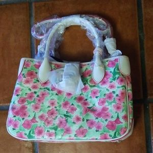 NWT Dooney & Bourke Pink Floral Tote